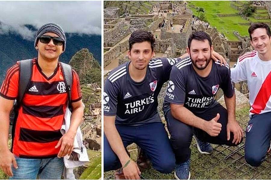 Copa Libertadores: Hinchas de River y Flamengo visitan Cusco antes de la final