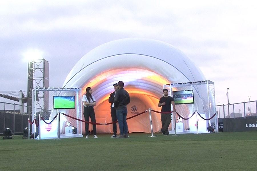 Copa Libertadores: museo 360 grados se exhibe en Fan Fest de San Miguel