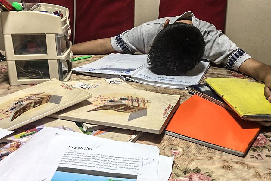 Atención: cuidado con el estrés escolar a fin de año