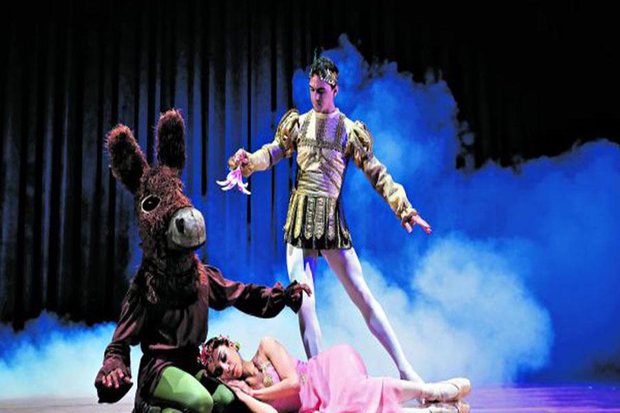"""Ballet """"Sueño de una noche de verano"""" el GTN"""