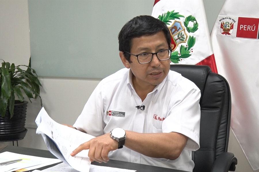"""Edmer Trujillo: """"Actuamos conforme a las normas y no hay nada irregular"""""""