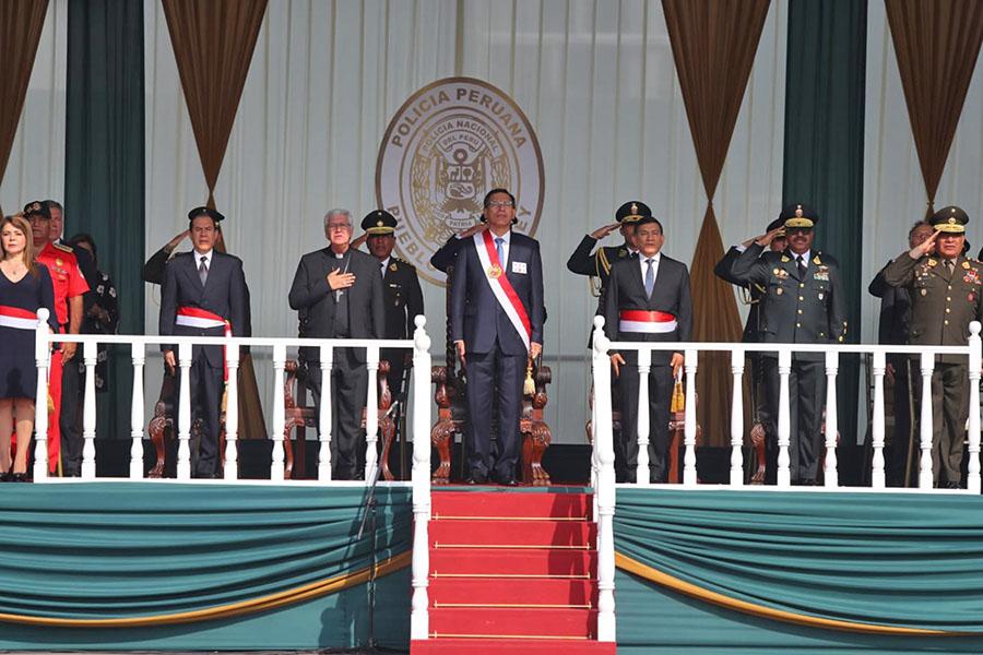 Presidente Vizcarra: Entre 2019 y 2020 se incorporarán cerca de 20 mil nuevos policías