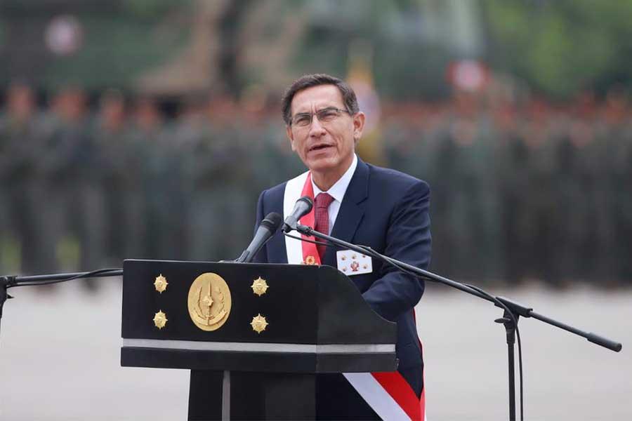 """Presidente Vizcarra: """"Actos de unos pocos no opacarán al Ejército"""""""