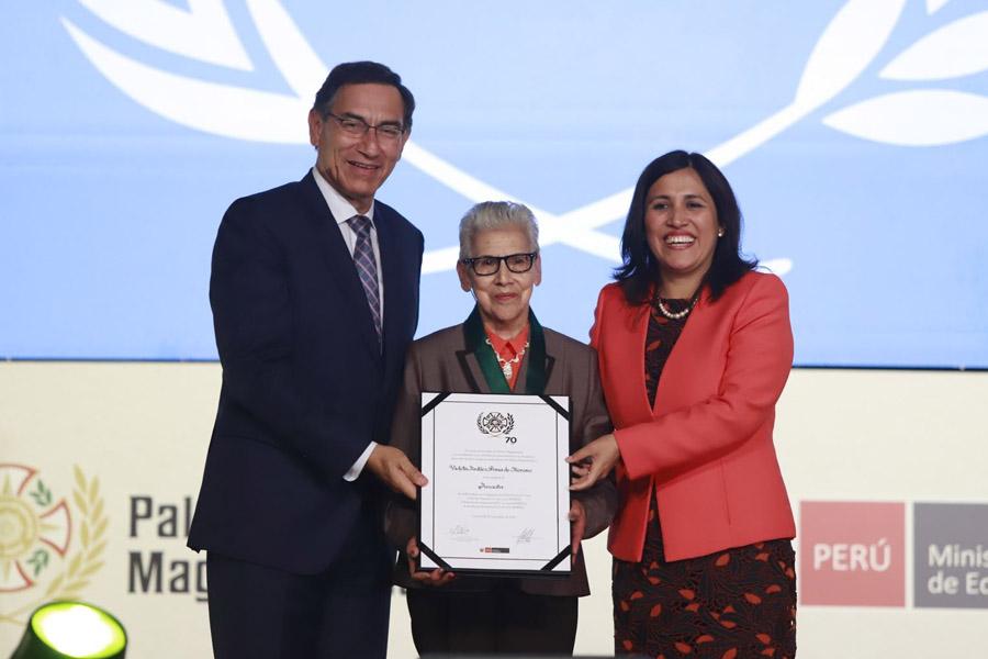 Presidente Vizcarra: La meta en educación es formar también mejores ciudadanos