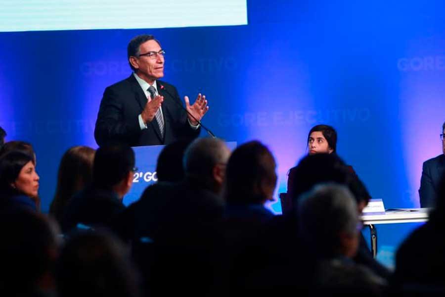 """Presidente Vizcarra: """"2020 será el inicio de un desarrollo largamente postergado"""""""