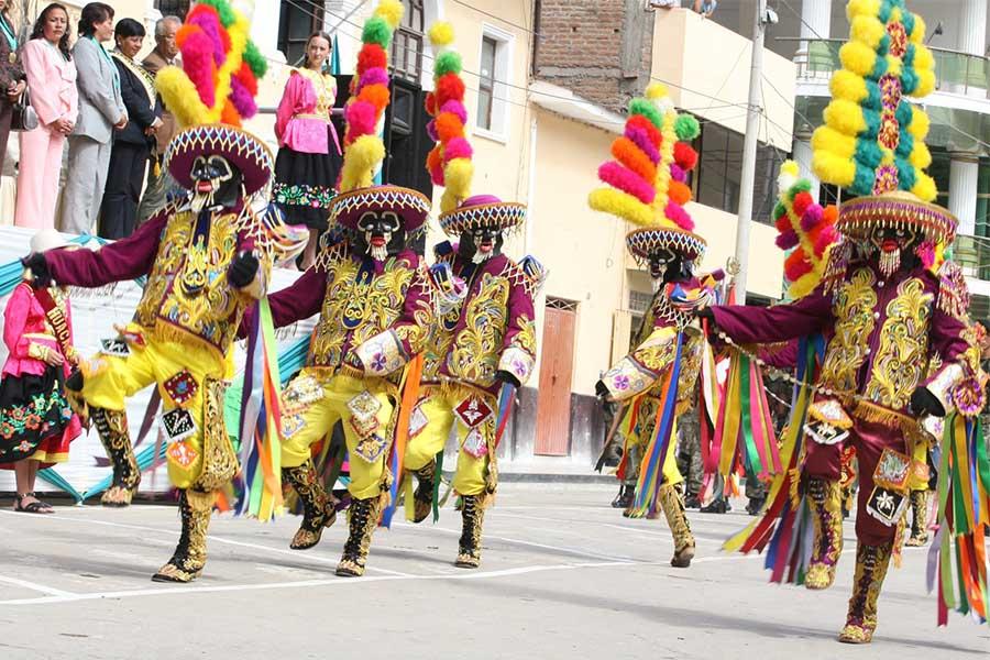 Conozca la tradicional Festividad Los Negritos de Huánuco