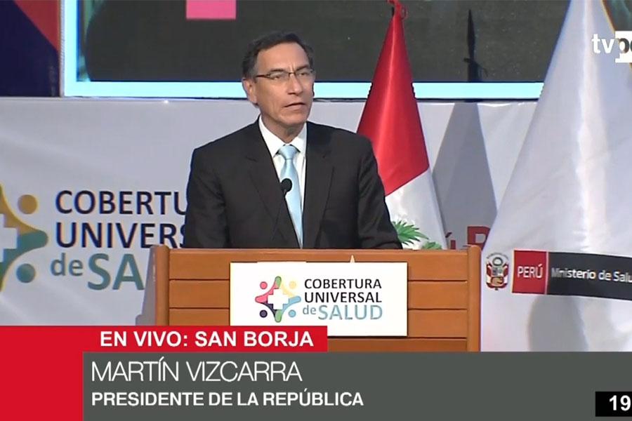 Presidente Vizcarra: Con el aseguramiento universal cerramos una brecha histórica
