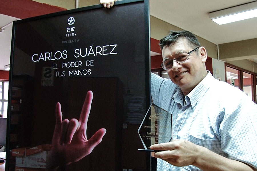 Carlos Suárez, trabajador de Editora Perú, inspira documental que gana premio