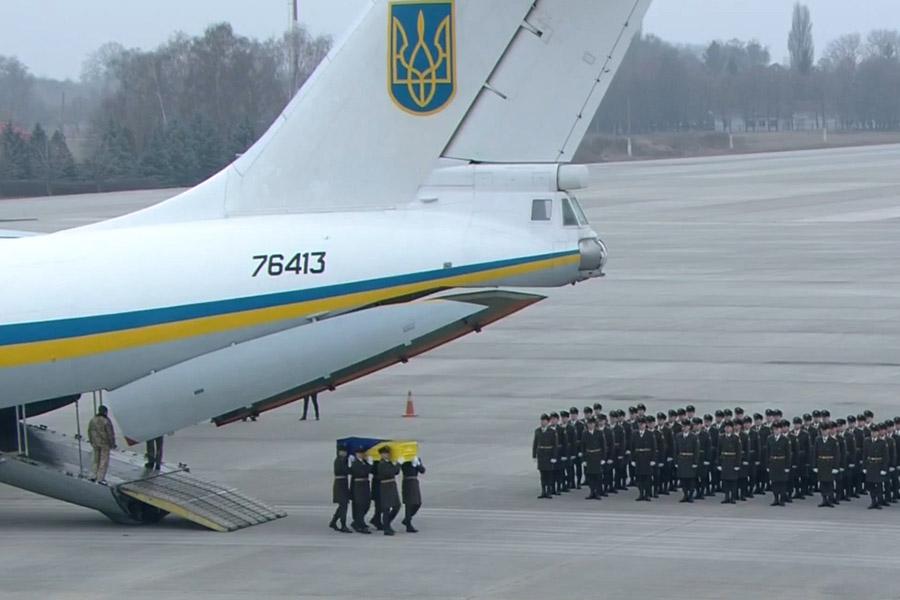 Llegaron a Kiev los cuerpos de las víctimas de accidente aéreo en Irán