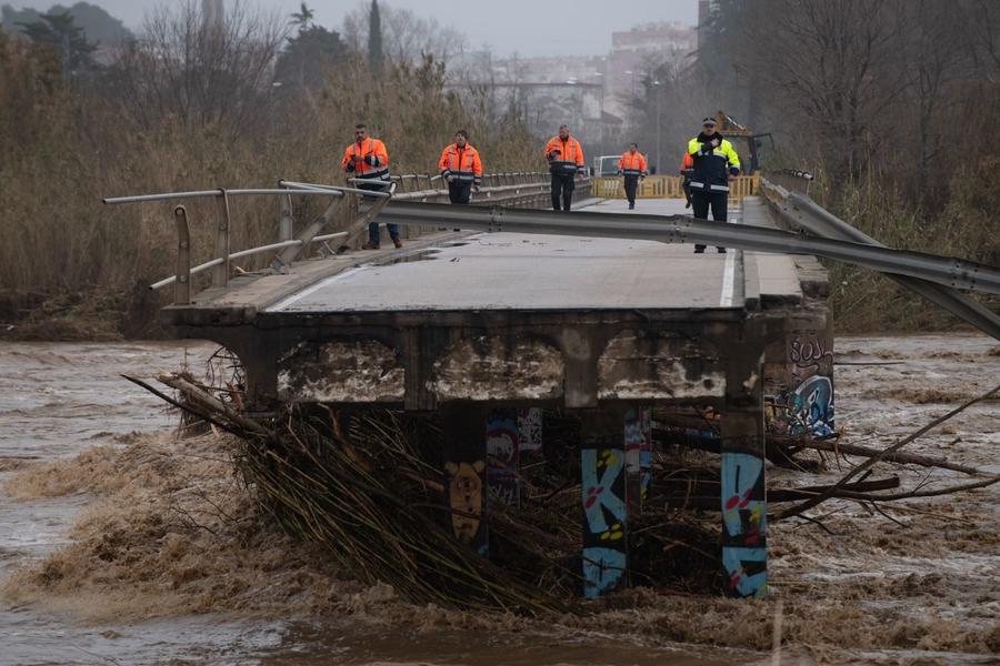 España: suben a siete las víctimas por el temporal Gloria