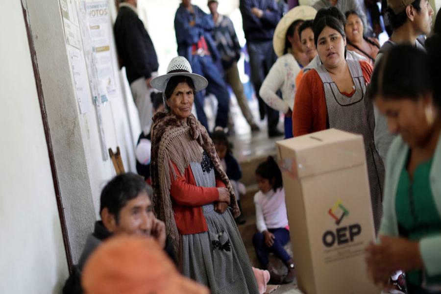 Bolivia: Morales busca recuperar el gobierno con voto en elecciones seguras