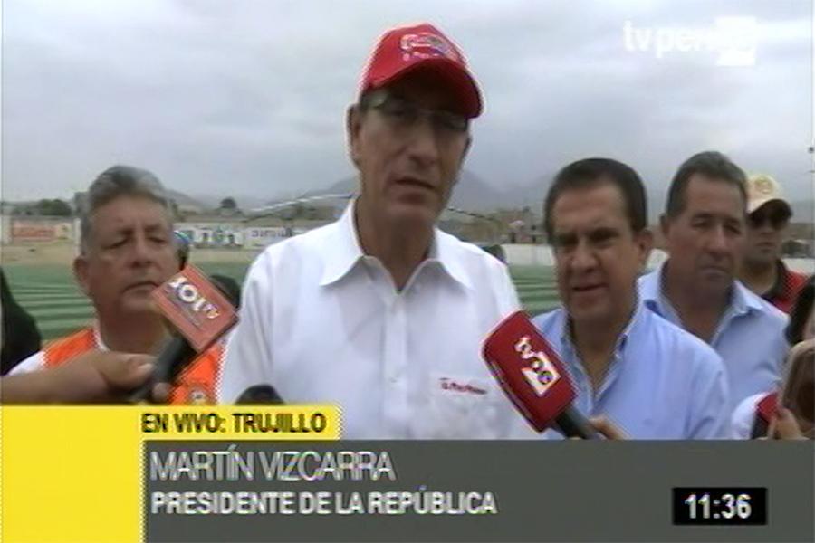 Presidente Vizcarra pide investigación por explosión en Villa El Salvador