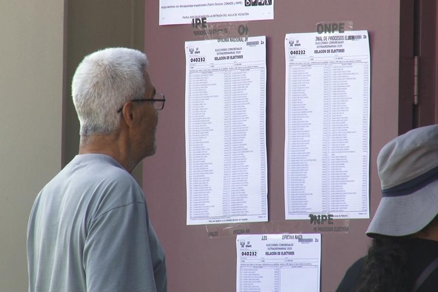 Elecciones 2020: Andina informa incidencias del proceso
