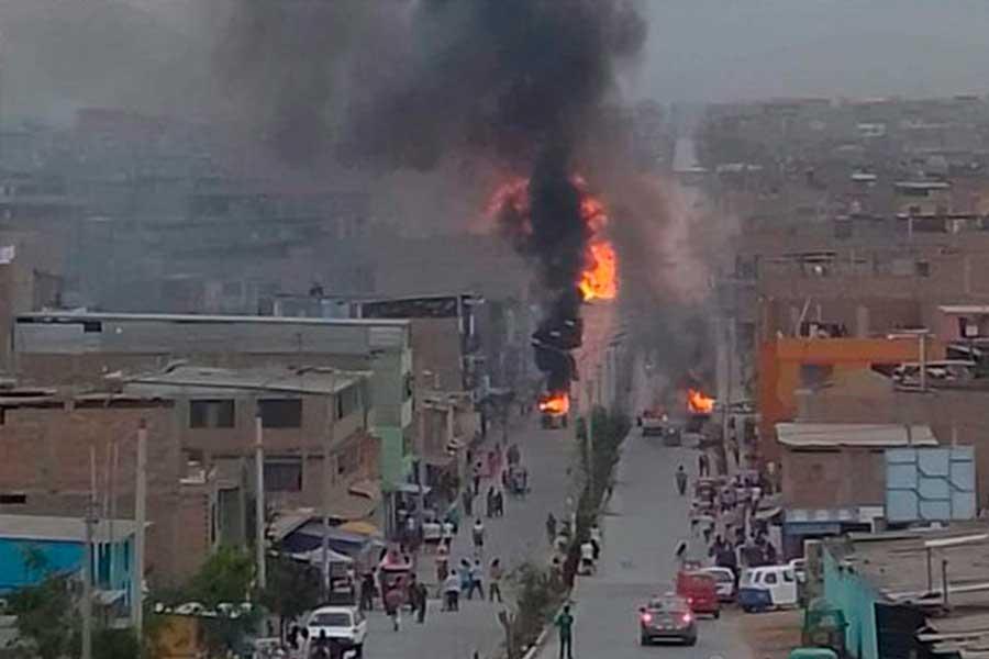 Villa El Salvador: dispensa electoral para damnificados de incendio