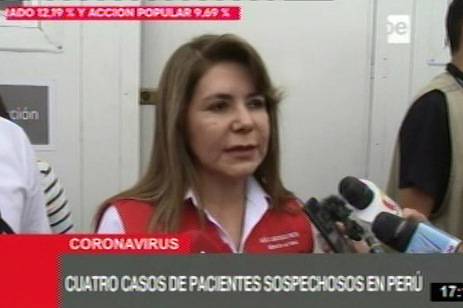 Minsa: por sospecha de coronavirus aíslan en Lima a cuatro personas