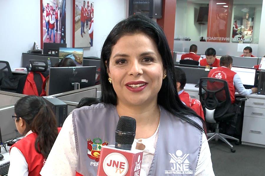 Yéssica Clavijo: servidora pública que trabaja por el fortalecimiento de la democracia