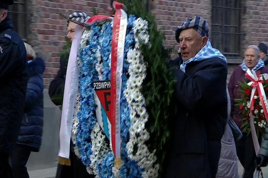 Auschwitz: sobrevivientes dan voz de alarma 75 años después de la liberación