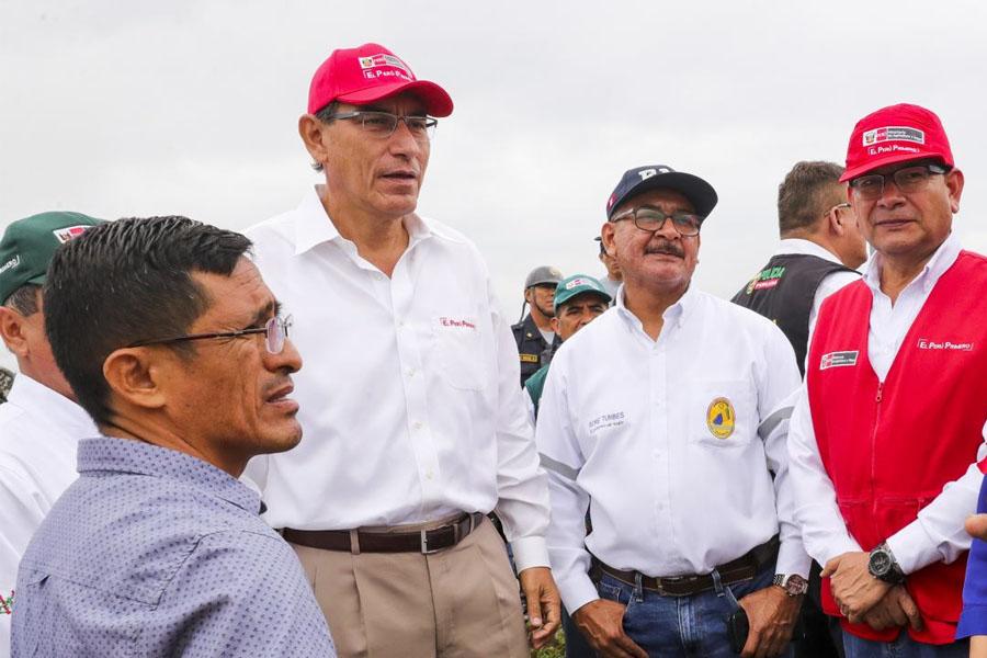Presidente Vizcarra felicita participación masiva de ciudadanía en elecciones