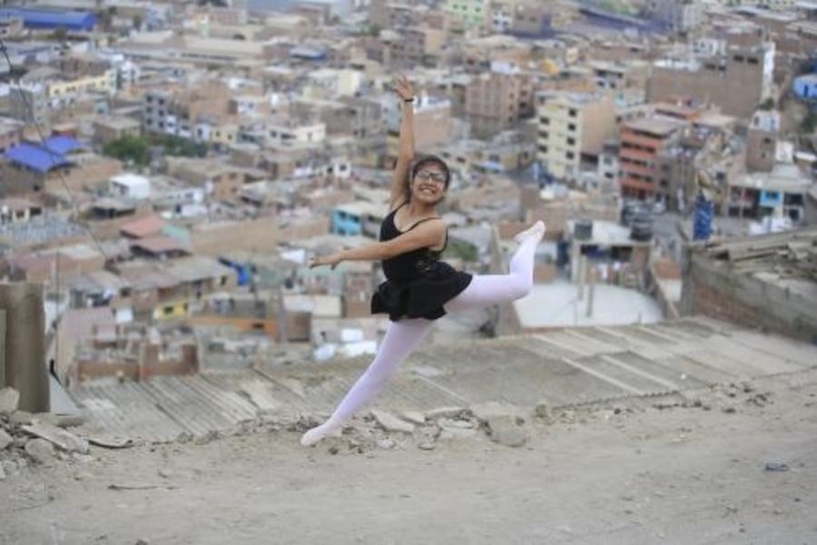 Nicole, la niña que danzando venció a la muerte