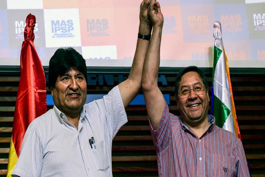 Bolivia. Llega a Bolivia Luis Arce, candidato presidencial del MAS