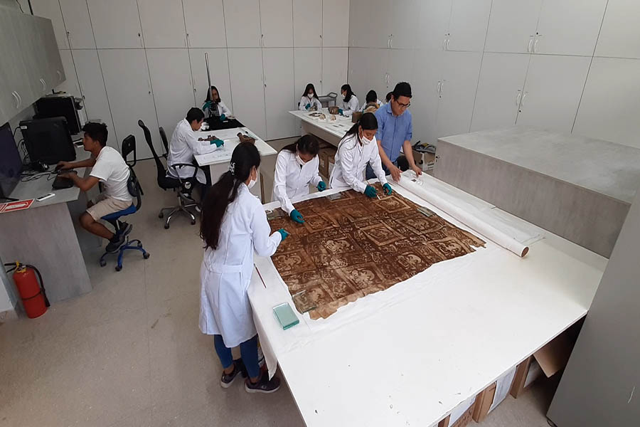 Huanchaco: Laboratorio con estándares internacionales preserva hallazgos