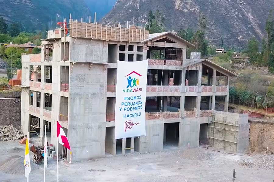 Cusco: construyen Vidawasi, primer hospital oncológico infantil de Sudamérica