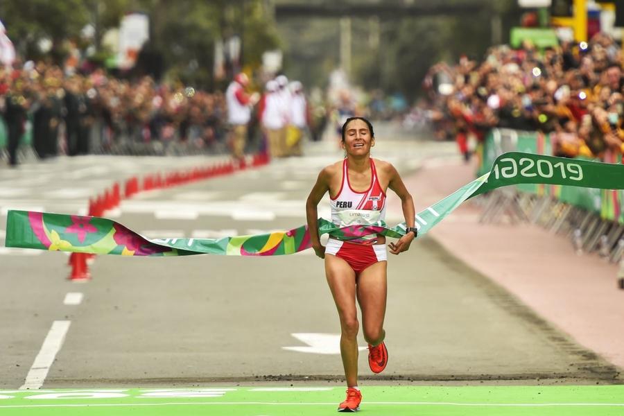 Gladys Tejeda clasifica a los Juegos Olímpicos de Tokio 2020