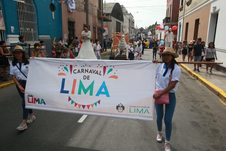 Carnaval: Lima recupera tradición histórica tras 60 años