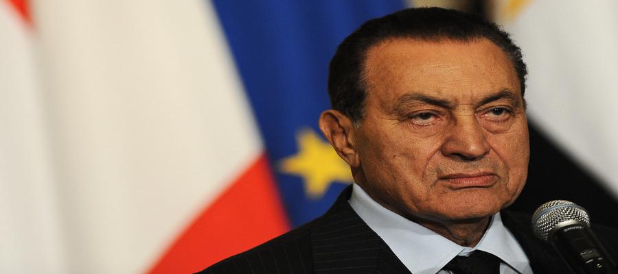 Egipto: falleció el expresidente Hosni Mubarak