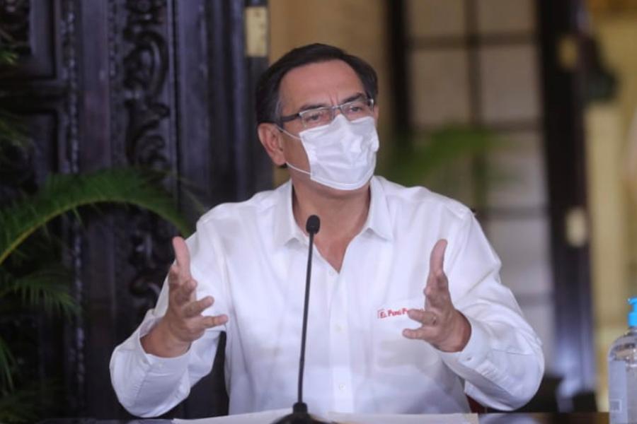 Coronavirus: presidente Vizcarra confirma 671 casos
