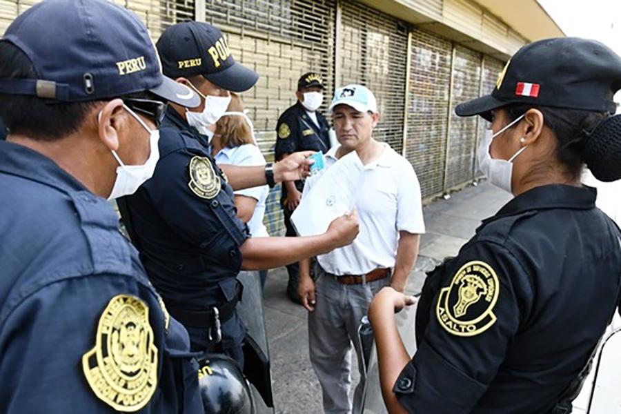 Coronavirus: ciudadanos infractores afrontarán proceso penal
