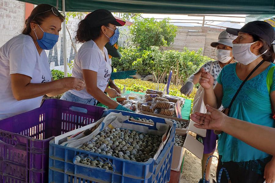 Minagri: instalan mercado móvil para abastecer a ciudadanos