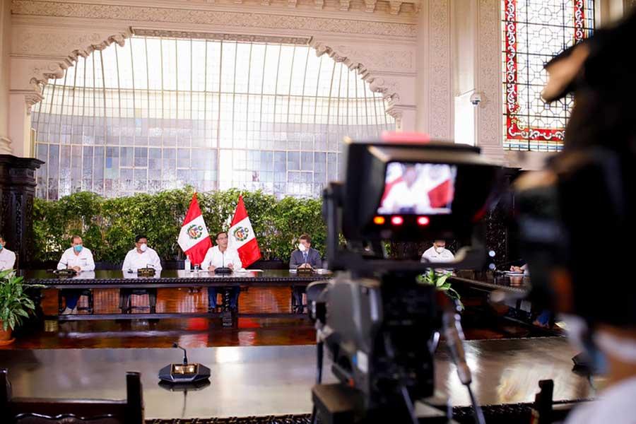 Presidente Vizcarra confirma 950 casos de coronavirus en el país
