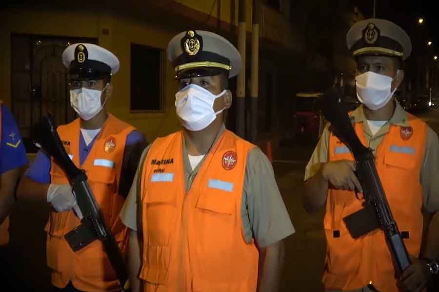Coronavirus: los emotivos mensajes a los miembros de la Marina de Guerra del Perú