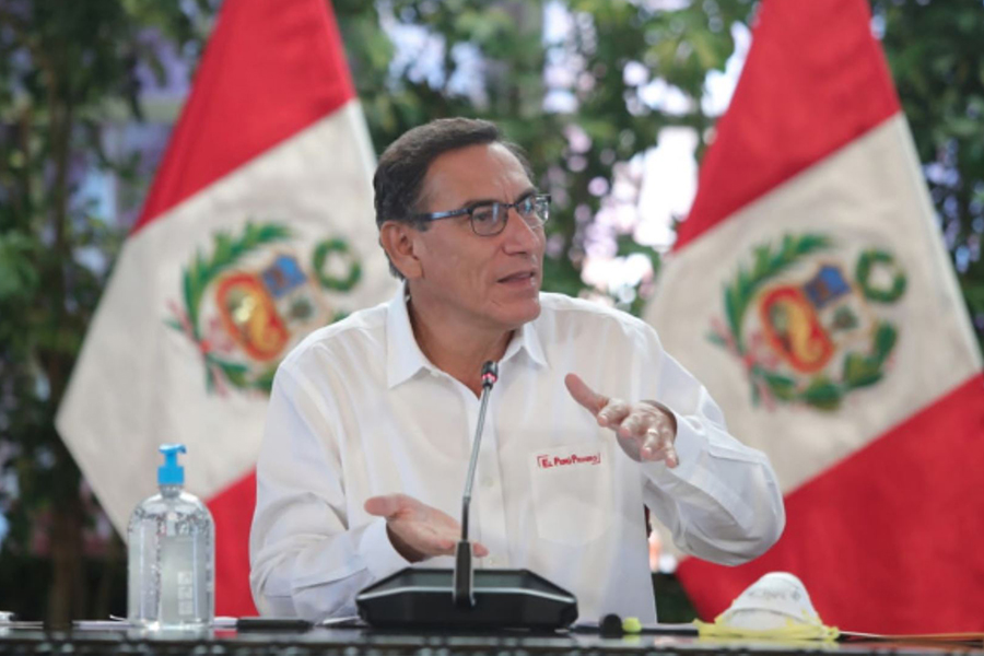Presidente Vizcarra confirma 1.065 casos del coronavirus en el país