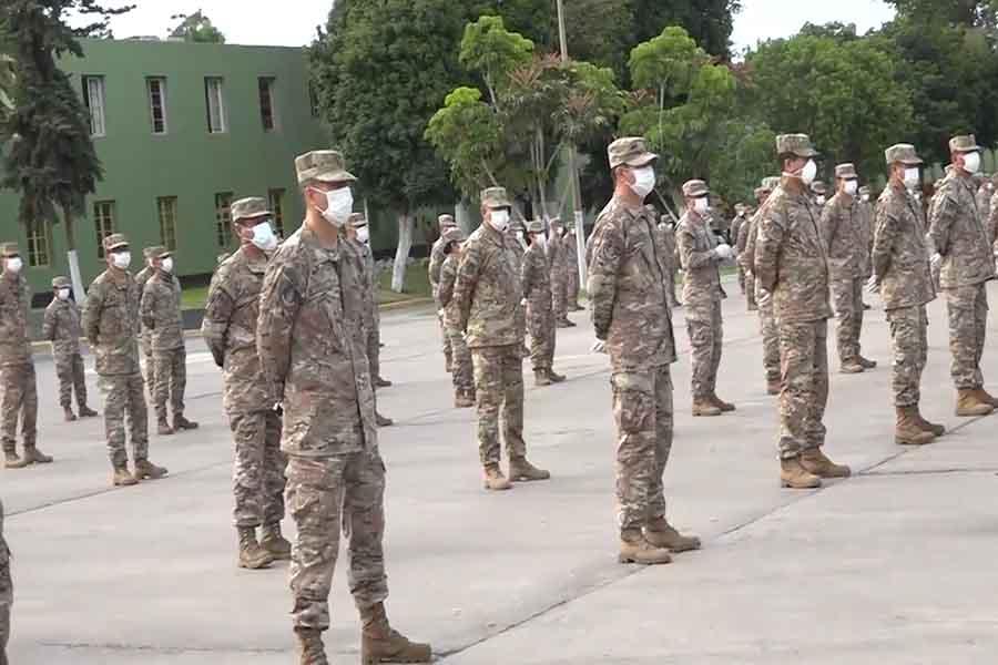 Desde el 1 de abril se reintegran reservistas al Ejército del Perú