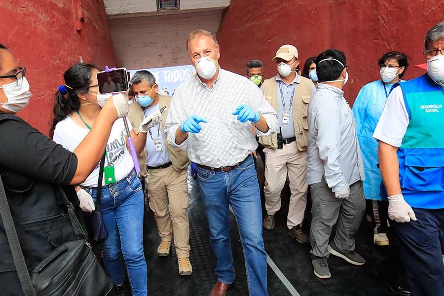 Coronavirus: plaza de Acho recibe desde hoy a personas en abandono