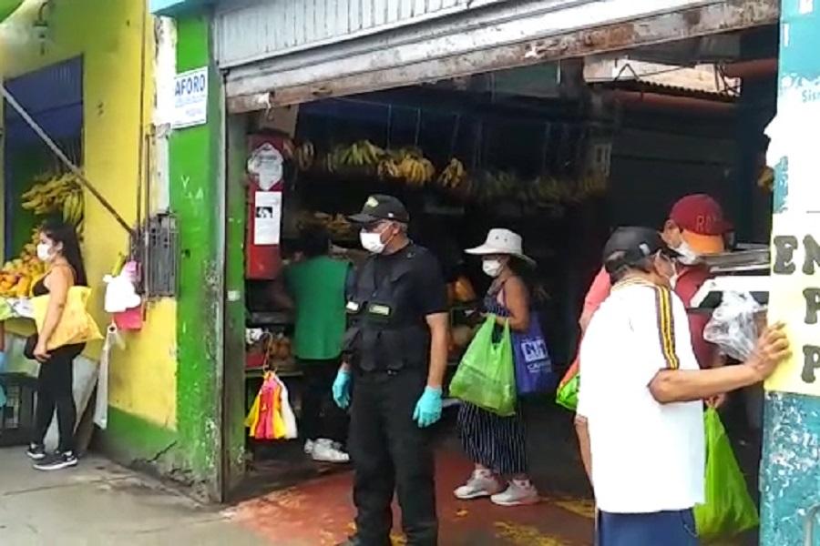 Coronavirus: mercado de Magdalena no abrirá por fumigación