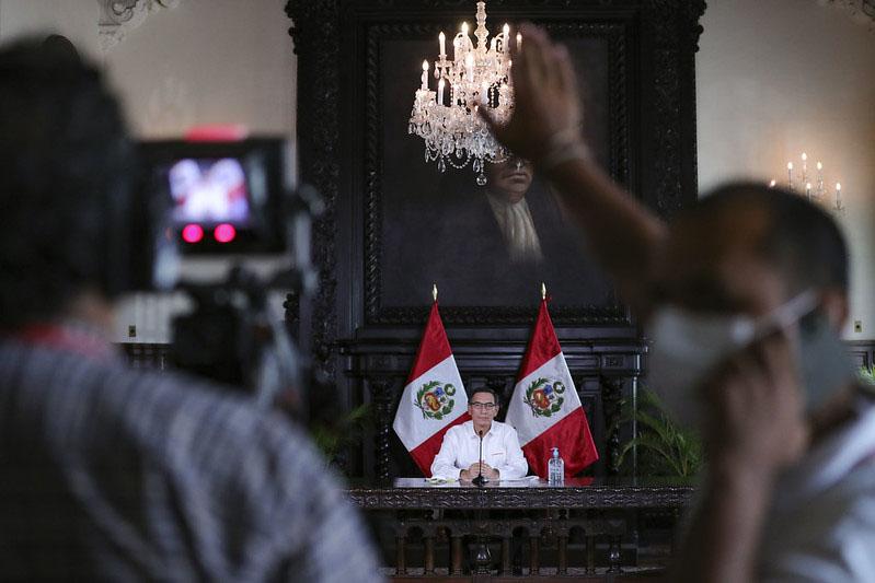 Presidente Vizcarra confirma 1,323 casos de coronavirus en el país