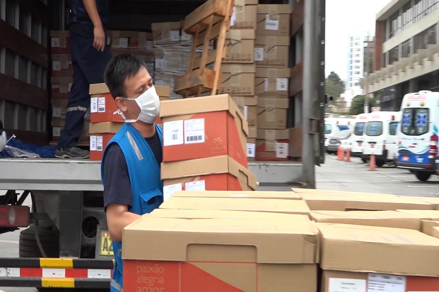 Coronavirus: empresas privadas entregan donaciones a EsSalud