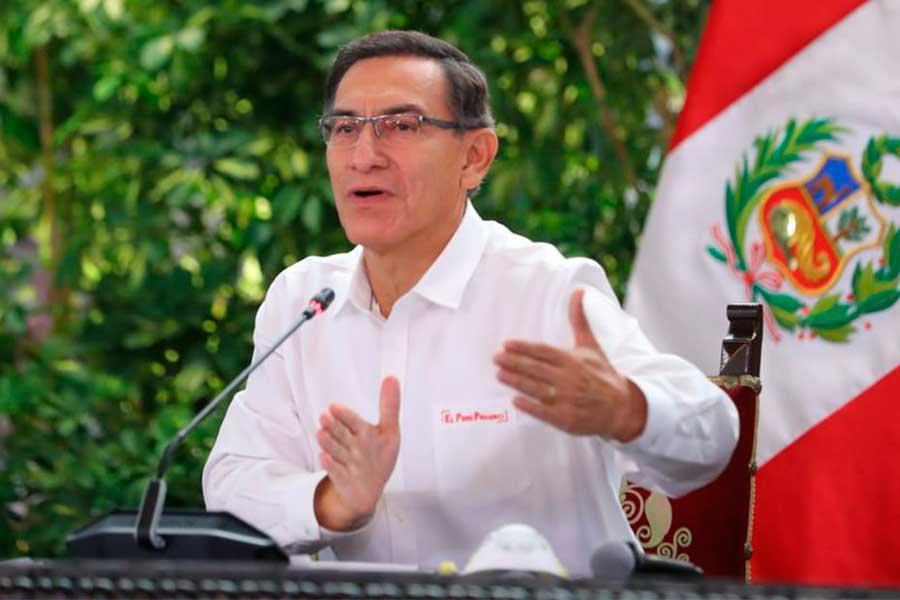 Presidente Vizcarra confirma 1,595 casos de coronavirus en el país