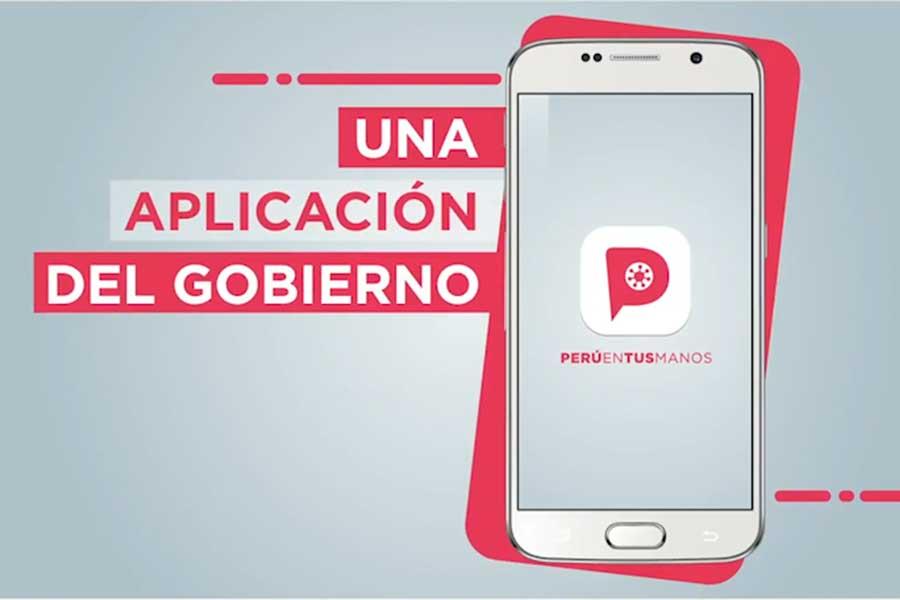 """Coronavirus: así funciona el App """"Perú en tus manos"""""""