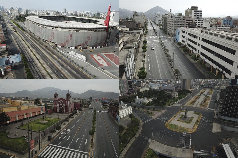 Coronavirus: así luce Lima en el primer domingo de inmovilización total de la población