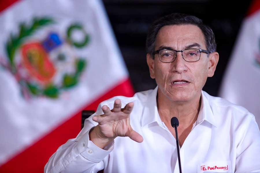 """Presidente Vizcarra: """"Es un momento difícil, pero lo vamos a superar con la fortaleza que tenemos los peruanos"""""""