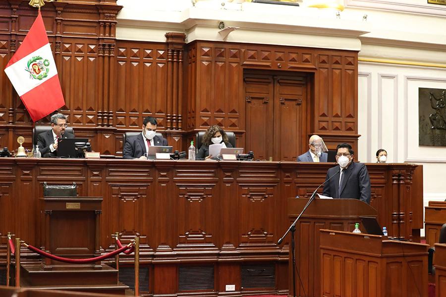 Zeballos: lucha contra la corrupción es un compromiso del Gobierno