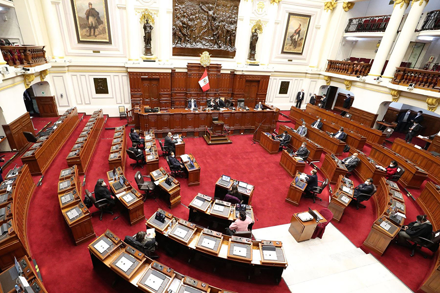 Pleno del Congreso otorga voto de confianza al Gabinete Zeballos