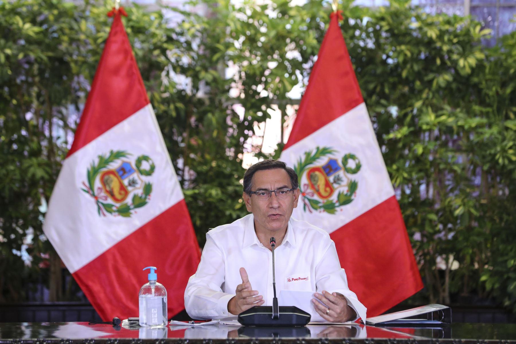 Presidente: pruebas covid-19 fueron aplicadas a más de un millón de peruanos