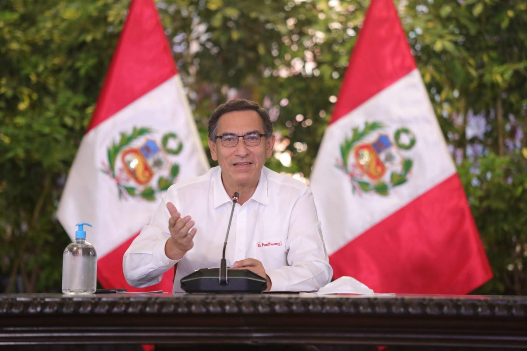 """Vizcarra: """"No podemos dejar de lado las reformas"""""""