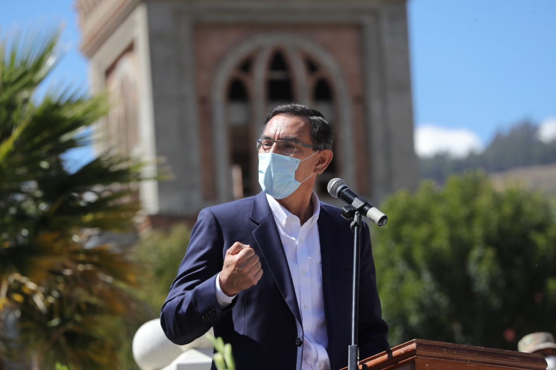 Vizcarra: Un país unido puede vencer todos los retos que nos ponga la naturaleza