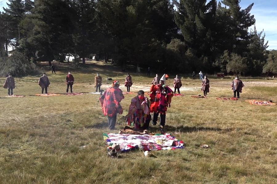 Cusco pide a la Pachamama el cese del covid-19